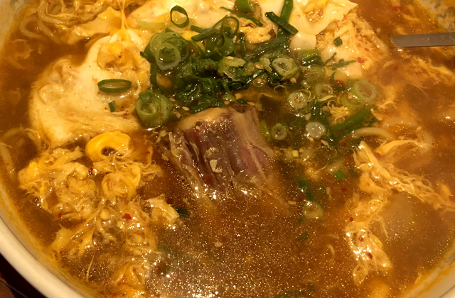 豊岡市福田にある焼肉屋「瑞苑」でほろほろのテール肉が絶品のテールラーメンを食べてきたよ!