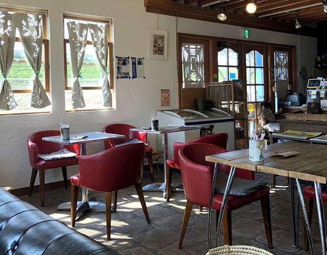 豊岡市出石町伊豆にあるカフェ「狩野牧場KANOボク」
