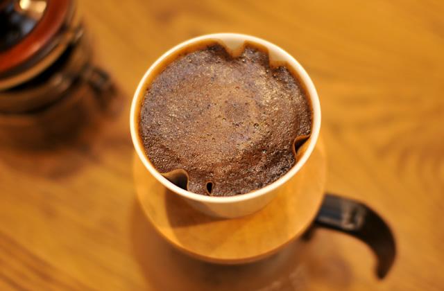 豊岡市戸牧にある蜩珈琲のヒグラシブレンド「薪火」が美味い!