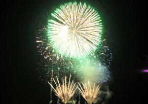 豊岡「柳まつり」2018の花火大会を見てきたよ!