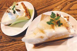豊岡市下陰にあるケーキ屋「Mifoork ミホーク」のベイクドチーズタルトと洋梨タルトが美味い!
