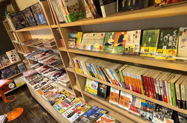 城崎温泉にある本屋「ブックストア・イチ」