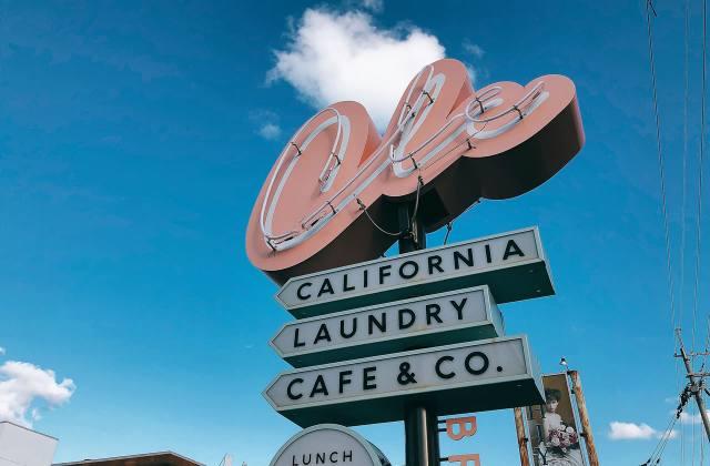 福知山のおしゃれなカフェ「CALIFORNIA LAUNDRY CAFE & CO.」に行ってたよ!