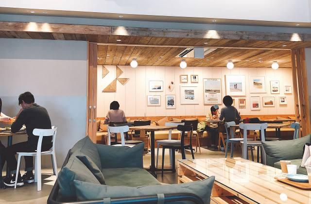 福知山のおしゃれなカフェ「CALIFORNIA LAUNDRY CAFE & CO.」