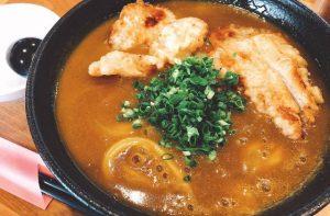豊岡市福田にある「うどんレストラン 咲々(さくさく)」のカレーうどんが美味い!