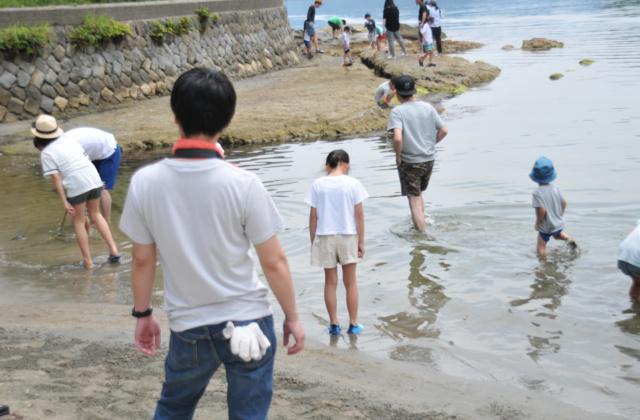 香美町にある三田浜海水浴場で地引網に参加してきたよ!
